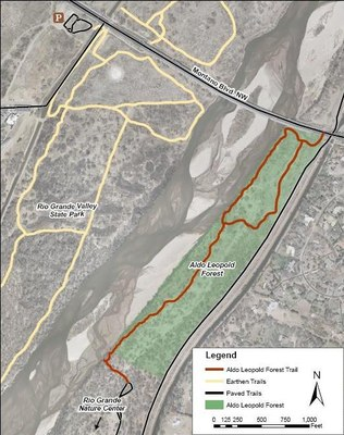Aldo Leopold Forest Map