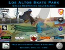 Los Altos Skate Park Celebration Flier