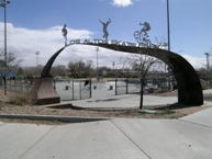 Image of Los Altos Skate Park.