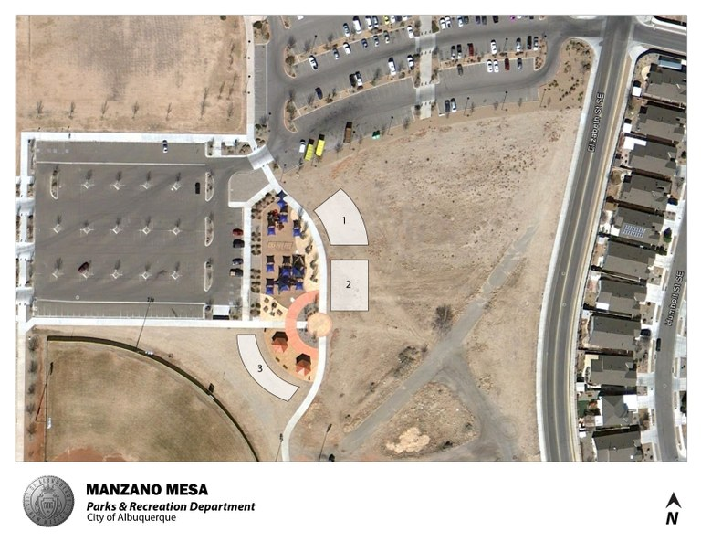 Manzano Mesa Park Jumper Map (August 2012)