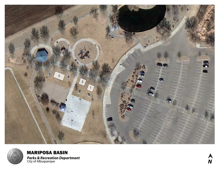 Mariposa Basin Park Jumper Map (August 2012)
