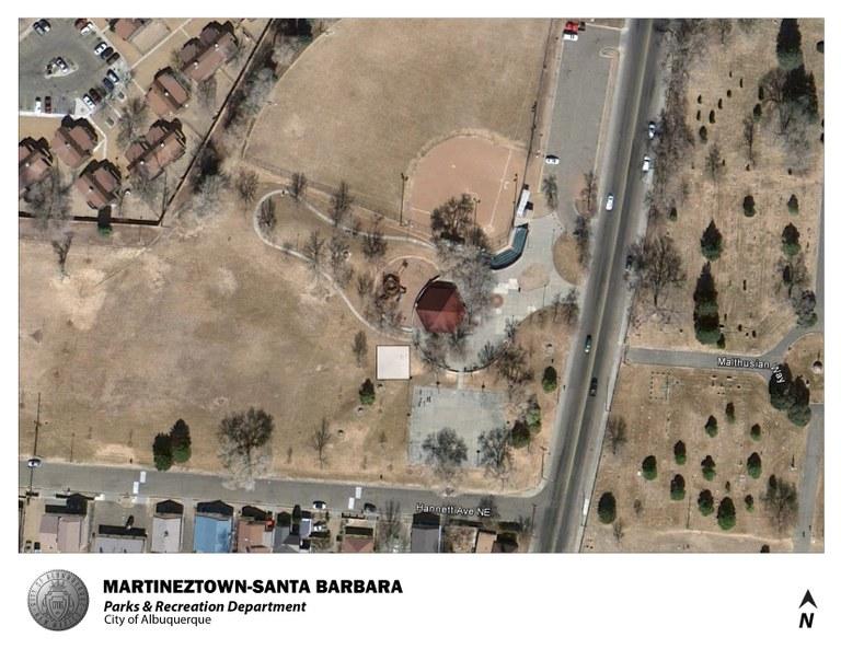 Martineztown-Santa Barbara Park Jumper Map (August 2012)
