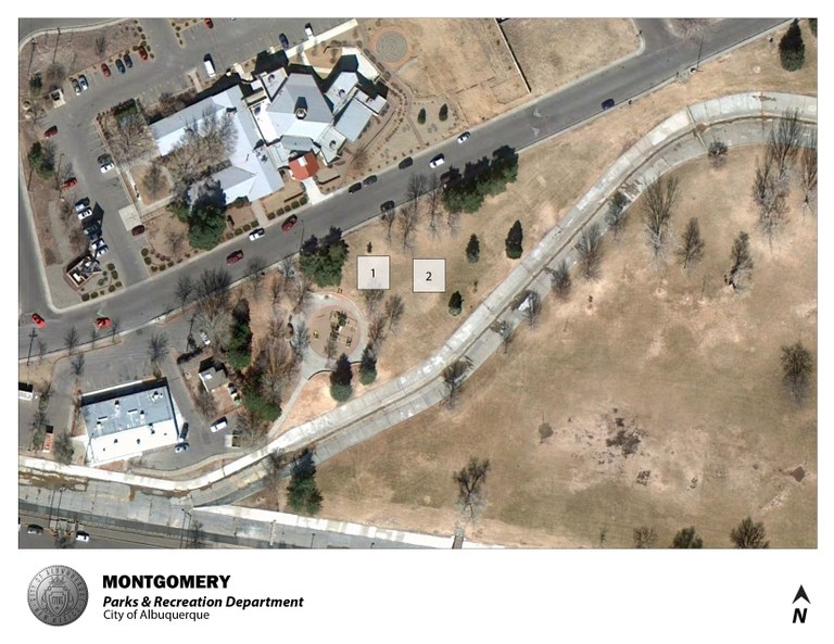 Montgomery Park Jumper Map (August 2012)