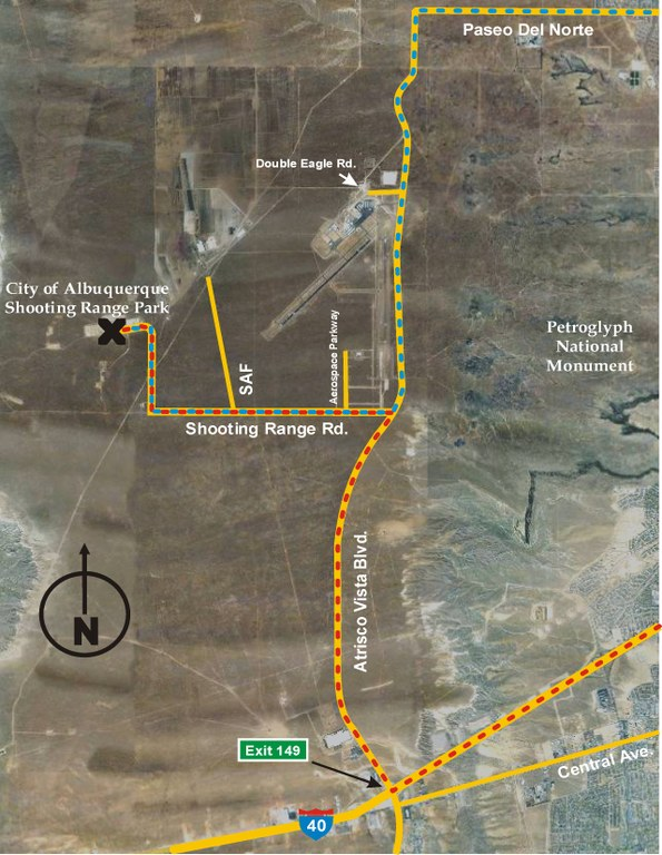 Map to Shooting Range Pic (Dec 2012)