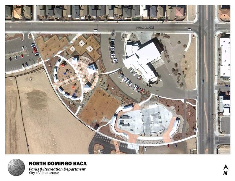 North Domingo Baca Park Jumper Map (August 2012)