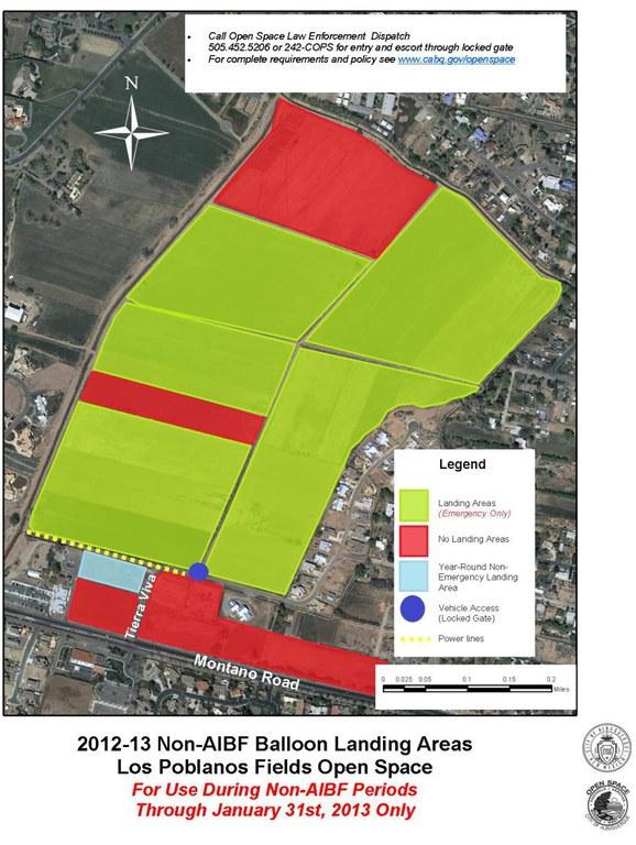 Balloon Landing map 2013