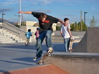 Image of North Domingo Baca Skate Park.