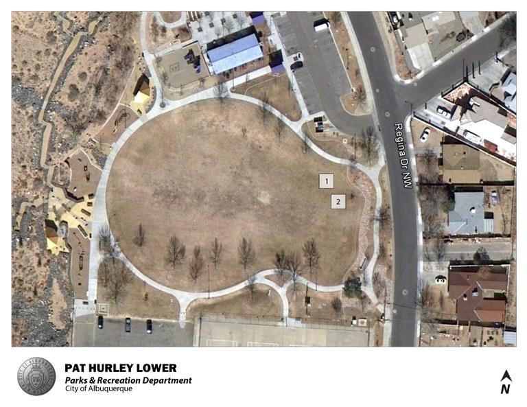 Pat Hurley Lower Park Jumper Map (August 2012)