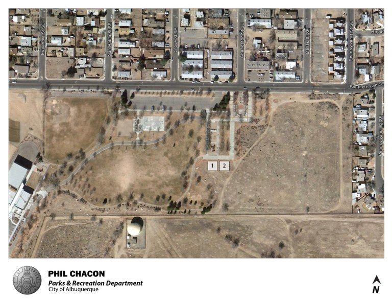 Phil Chacon Park Jumper Map (August 2012)