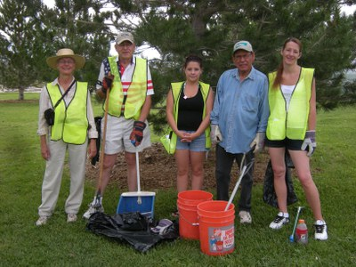 Pat Hurley and Lavaland Park Volunteers
