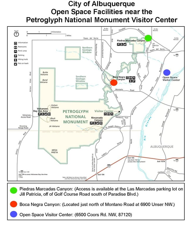 Petroglyph National Monument Closures 2013