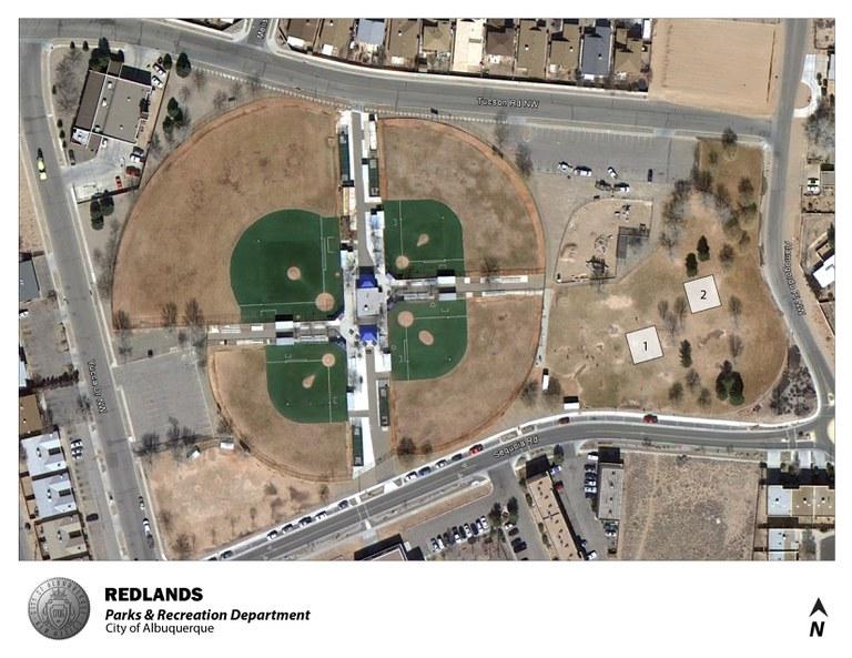 Redlands Park Jumper Map (August 2012)