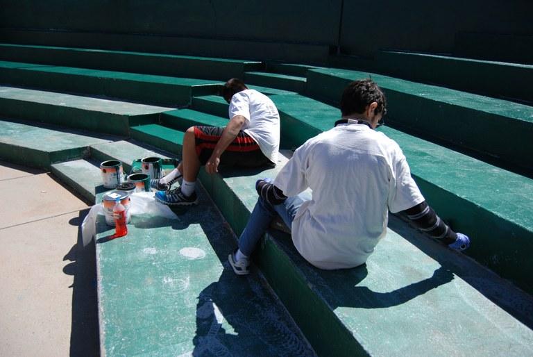 Santa Barbara Martineztown Park Volunteer Effort April 2014