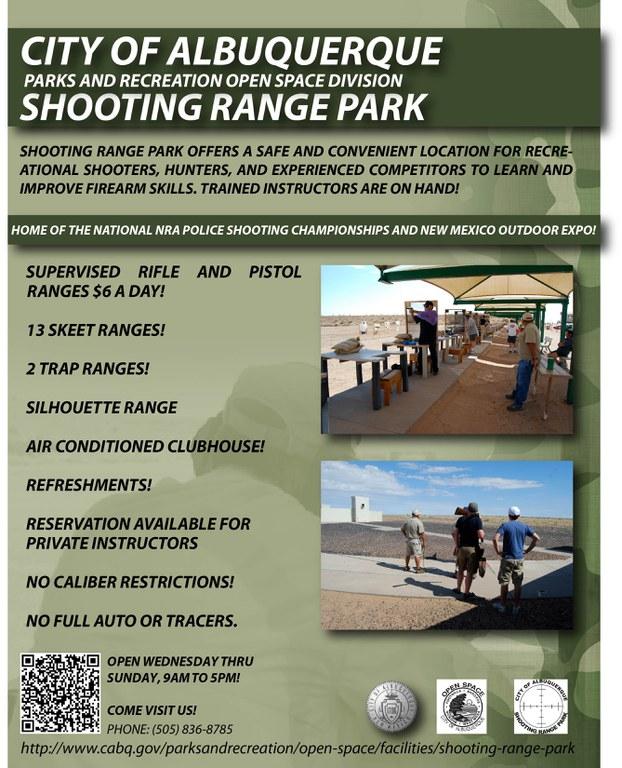 Shooting Range Flyer