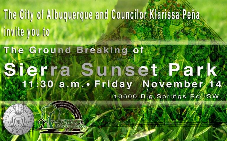 Groundbreaking Sierra Sunset