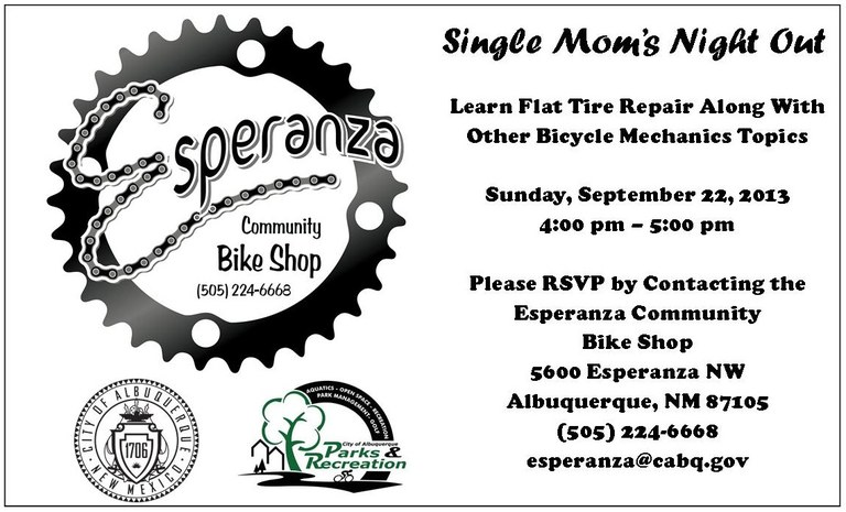 Single Mom's Night out at ECBS