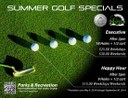 Golf Summer Specials 2014 Flier