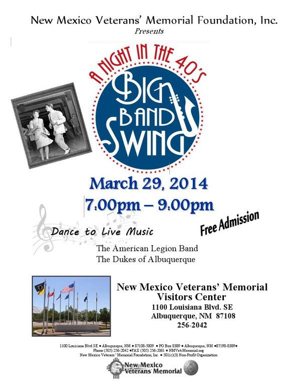 Swing Dance March 2014