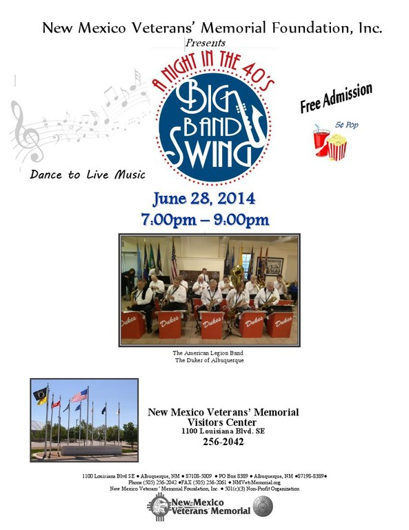 Saturday Night Swing June 2014