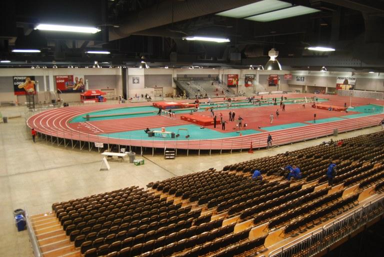 Indoor Track Pic