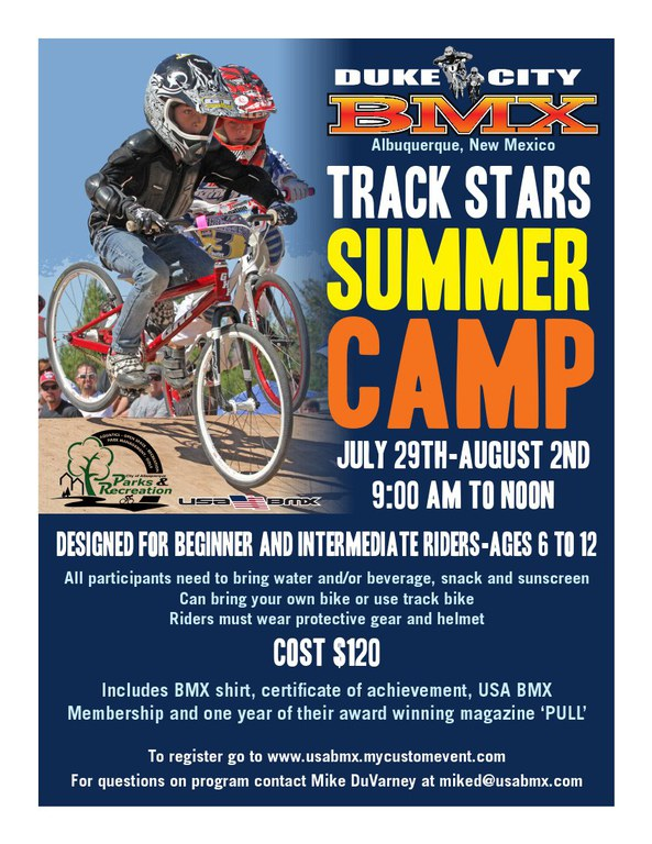Duke City BMX Camp 2013