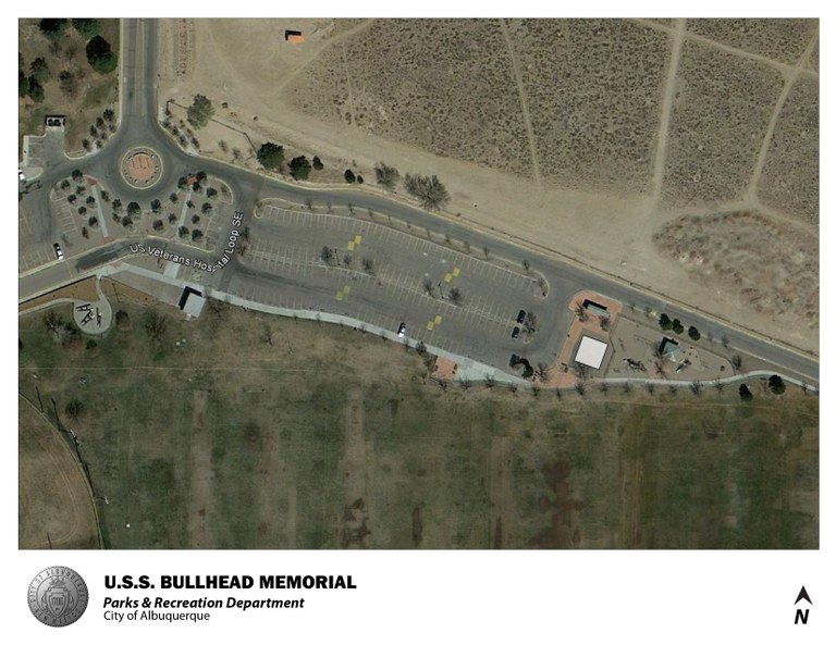 USS Bullhead Park Jumper Map (August 2012)