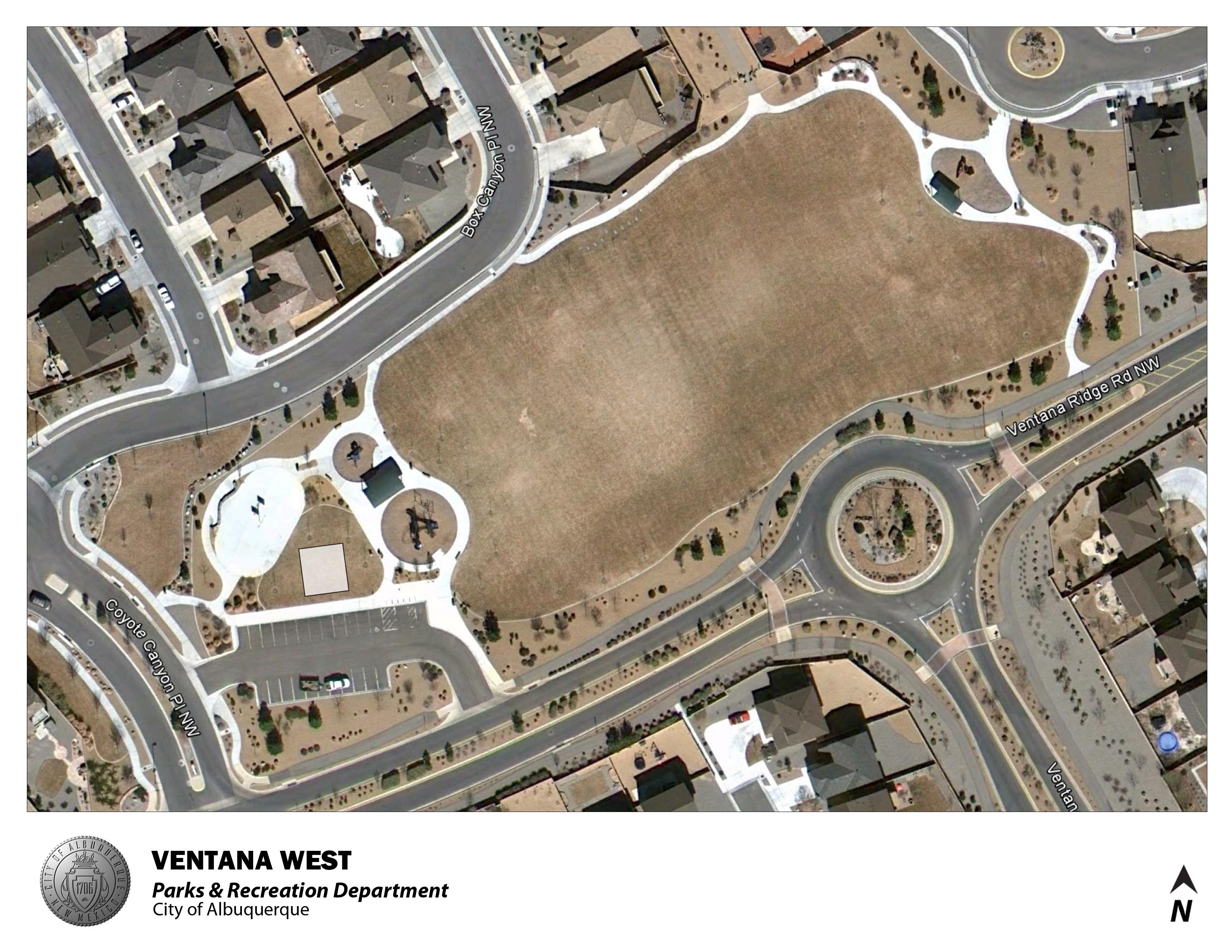 Ventana West Park Jumper Map 8/2012