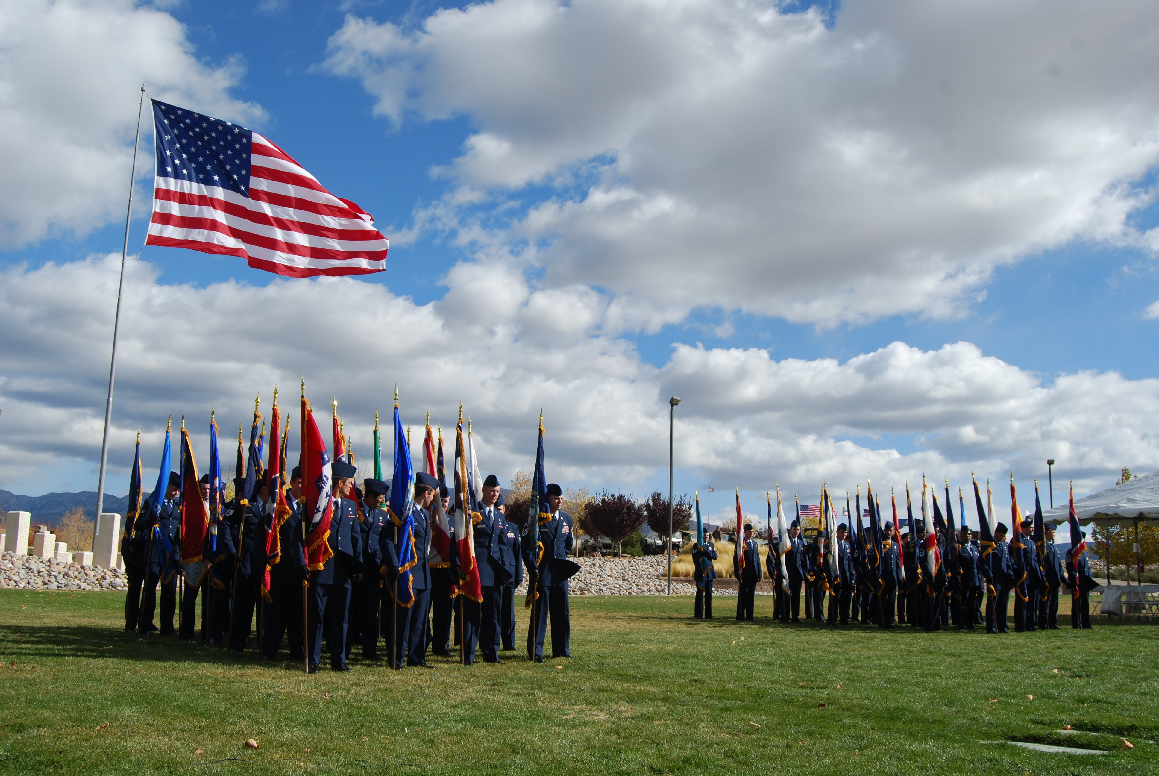 Veterans Day 2012 at NM Veterans Park Pic