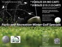 Winter 2013-2014 Golf Specials