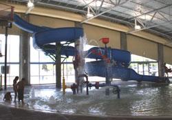 Slide at West Mesa Aquatic Center
