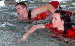 Lifeguarding courses are provided for anyone interested in this rewarding field