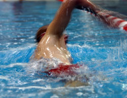 A four-skill test is required of all City of Albuquerque lifeguards