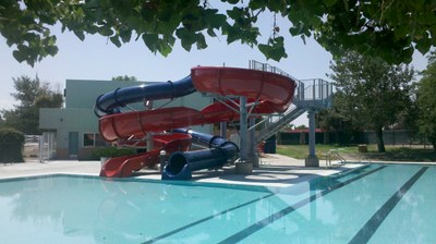 Sierra Vista Pool Slide