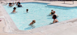Consider a swimming pool for your next party