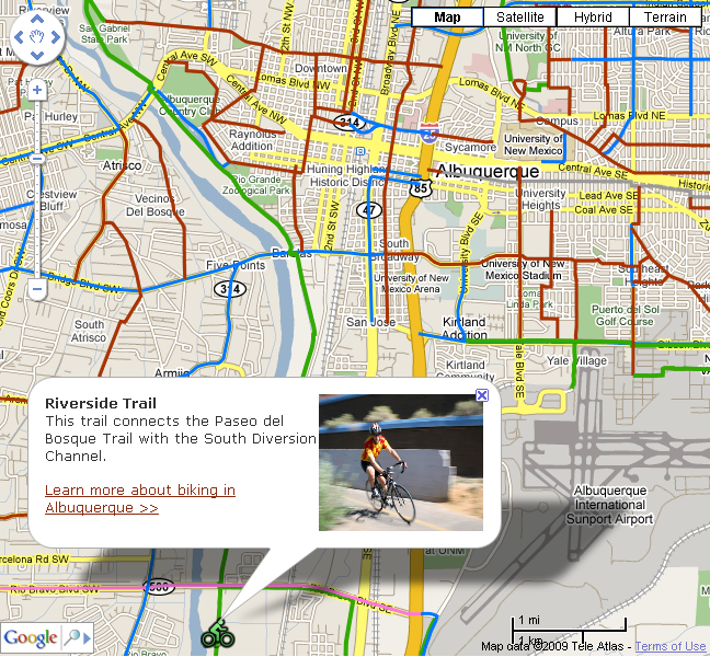 Bike Map Thumbnail