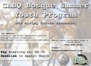 Bosque Summer Youth Program flyer