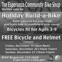 Holiday Build a Bike