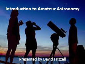 Introduction to Amateur Astronomy