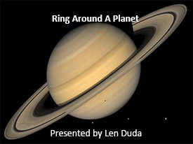 Ring Around A Planet