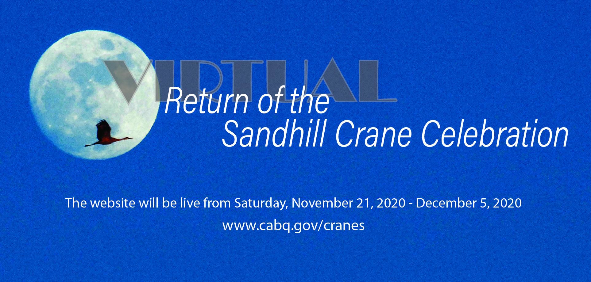 Return of the Sandhill Crane Celebration