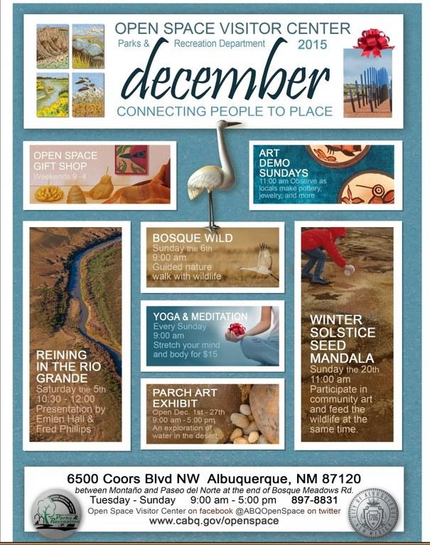OSVC December 2015 Calendar