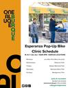 Esperanza Pop-Up Bike Clinic Schedule