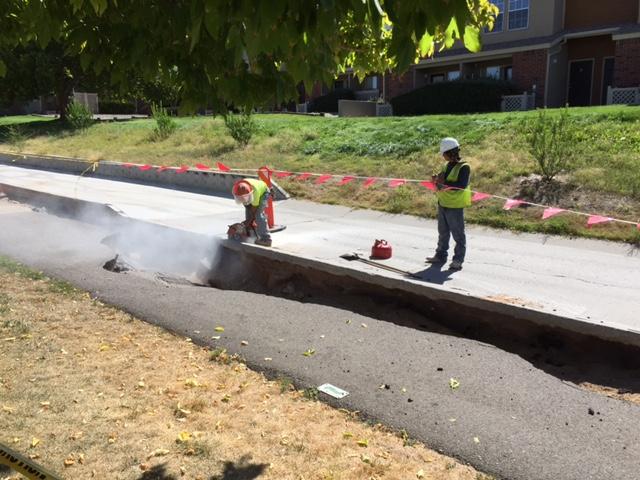 Academy Hills flood repairs01