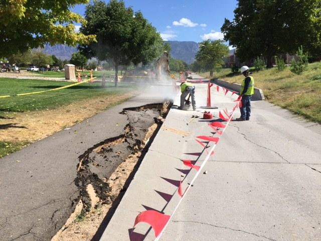 Academy Hills flood repairs03