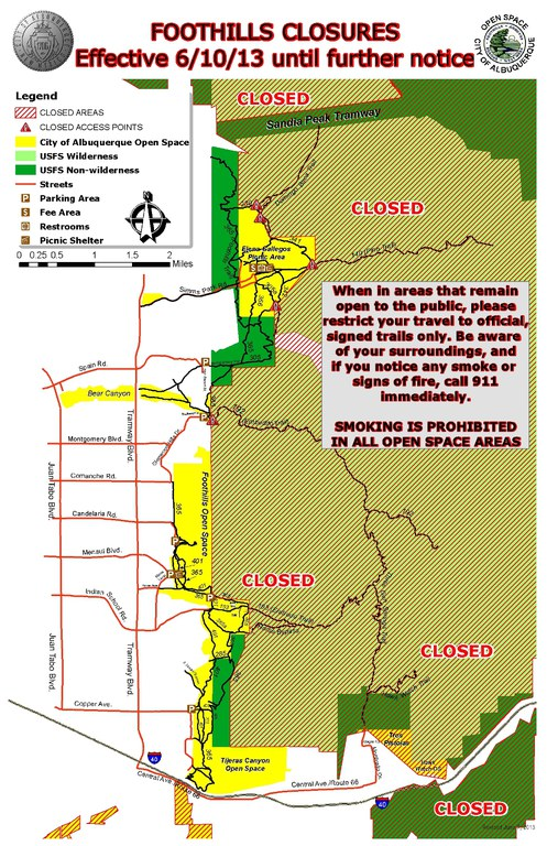 Foothills Closures