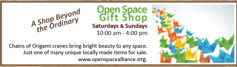 caption:The Open Space Visitor Center Gift Shop