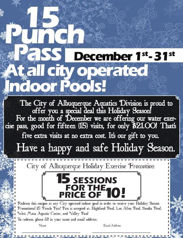 Aquatics December 2012 Promotion