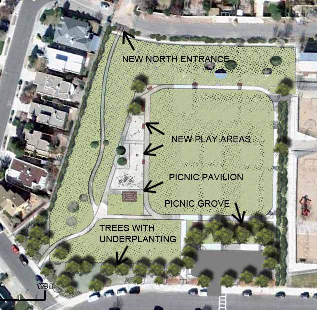 Georgia O'Keeffe Elementary School Park Rendering