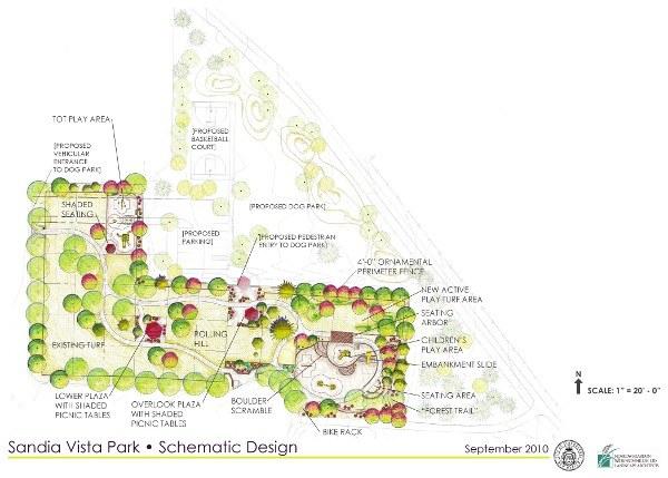 Sandia Park Schematic