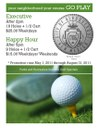 Summer Golf Specials Flier